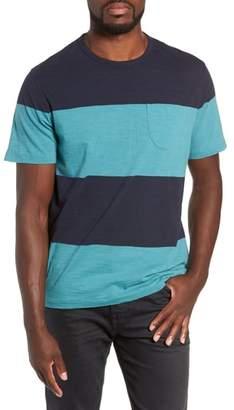 YMC Colorblock Slubbed Pocket T-Shirt