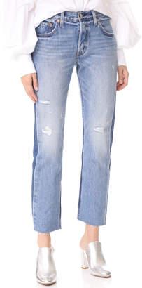 Levi's 501 Crop Jeans $98 thestylecure.com