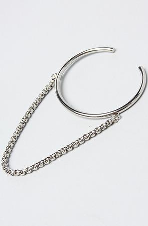 Cheap Monday The Elongate Chain Bracelet in Rhodium