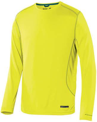 Asstd National Brand Microcool Crew Neck Long Sleeve Thermal Shirt