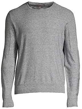 Canali Men's Long-Sleeve Knit Shirt