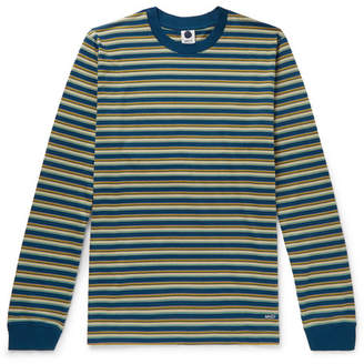 Jagger NN07 Striped Mercerised Cotton-Jersey T-Shirt