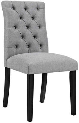 Modway Duchess Parsons Upholstered Fabric Dining Side Chair