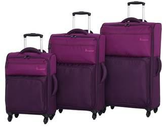 IT Luggage Duotone 4 Wheel 3-Piece Luggage Set