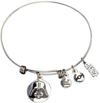 Star Wars Stainless Steel Darth Vader Expandable Bracelet