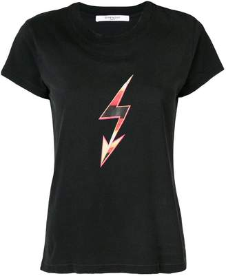 Givenchy lightning bolt T-shirt