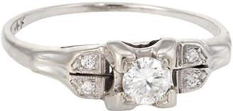 One Kings Lane Vintage Antique Art Deco Diamond Ring - Precious & Rare Pieces