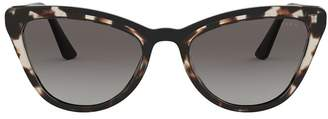 Prada Tortoiseshell Cat Eye Sunglasses