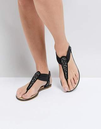 Silvia Rossini Pia Cosmo Toe Post Flat Sandal