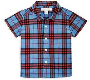 Burberry Boys' Mini Clarkey Check Shirt - Baby