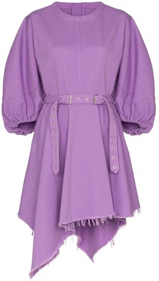 Marques Almeida Marques'Almeida voluminous-sleeve belted dress