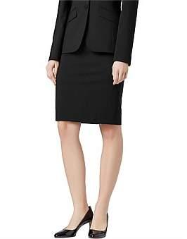 HUGO BOSS Stretch Wool Slim-Fit Pencil Skirt