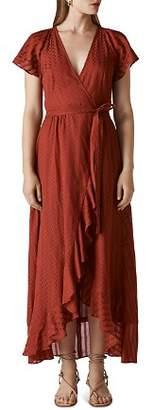 Whistles Nolita Maxi Wrap Dress