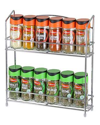 Fashion World Spice Rack with FREE Spices