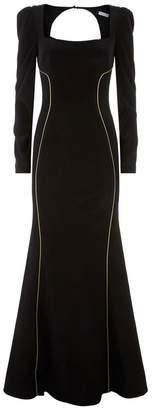 Rebecca Vallance Ivy Square Neck Gown