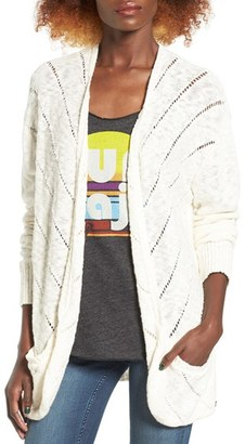 Women's Roxy Waiting On You Ladder Stitch Cardigan $49.50 thestylecure.com
