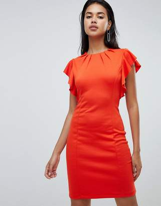 Y.A.S Sukulay ruffle sleeve dress