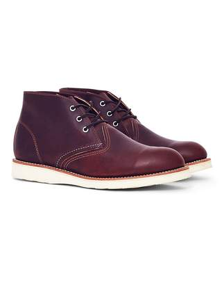 Red Wing Shoes Heritage Work Chukka Brown