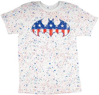 Novelty T-Shirts Batman American Logo Graphic Tee