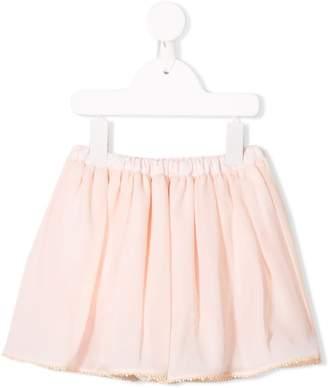 Christian Dior (クリスチャン ディオール) - Baby Dior レースヘム スカート