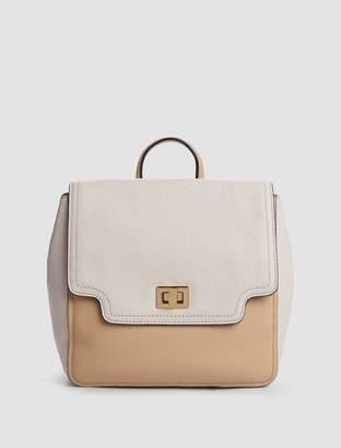 Calvin Klein ashley pebble leather backpack