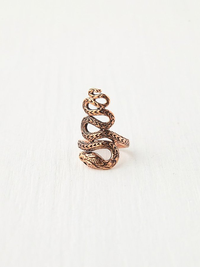Free People Twisted Snake Ring