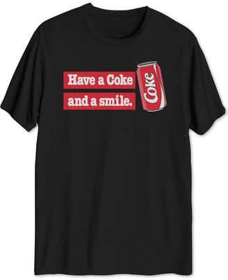 Hybrid Coke Slogan Men's Big & Tall Graphic T-Shirt