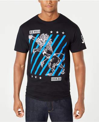 Sean John Men's Lion Slice Graphic T-Shirt