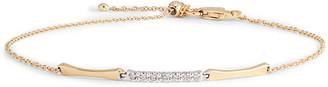 Bony Levy 3-Station Bracelet with Diamonds