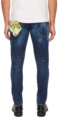 DSQUARED2 Hawaiian Wash Sexy Twist Jeans Men's Jeans