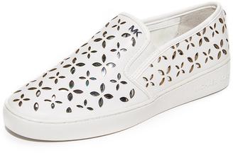 MICHAEL Michael Kors Keaton Slip On Sneakers $120 thestylecure.com