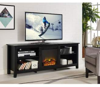 "Beachcrest Home Sunbury 70"" TV Stand with optional Fireplace"
