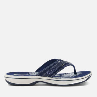 Clarks Women's Brinkley Sea Toe Post Sandals