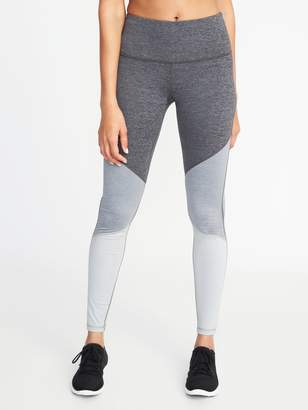 Old Navy High-Waisted Color-Block Elevate Compression Leggings For Women