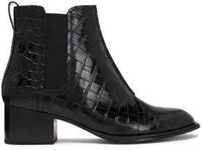 Rag & Bone Walker Ii Croc-Effect Leather Ankle Boots