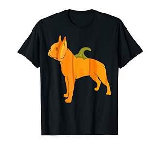 Boston Terrier Women Halloween Pumpkin Carving Gift T-Shirt