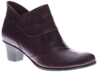 Spring Step Leather Booties - Azzuro