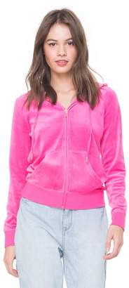 Juicy Couture Jc Home Team Velour Robertson Jacket