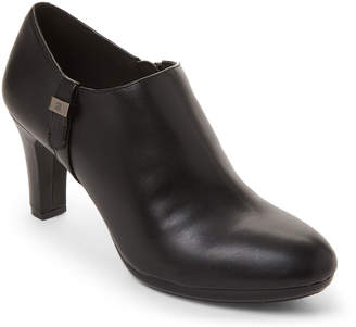 Anne Klein Black Seabed Ankle Booties