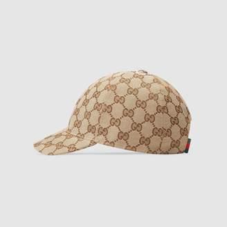 Gucci Children's Original GG canvas hat