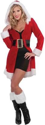 Forum Novelties Women's Enchanting Miss Christmas Costume Robe Jacket