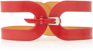 Maison Vaincourt Cage Leather Belt