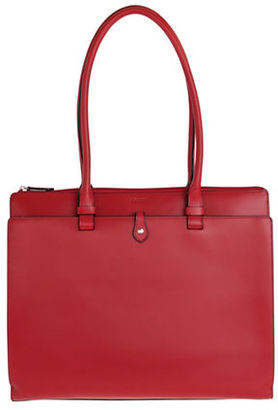 Lodis Audrey Jessica Grain Leather Work Satchel $298 thestylecure.com