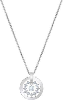 Swarovski Further Circle Pendant Necklace