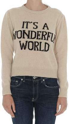 Alberta Ferretti Its A Wonderful World Sweater