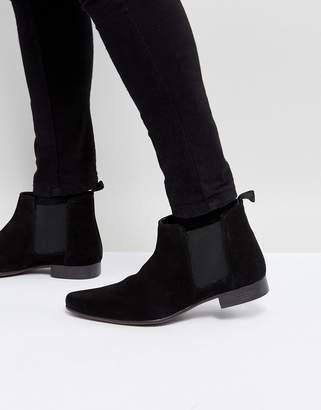 Asos Design Chelsea Boots in Suede