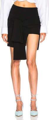 Jacquemus Paradiso Skirt in Black   FWRD