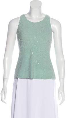 Michael Kors Sleeveless Beaded Top