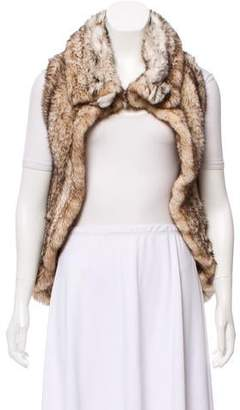 Dennis Basso Knitted Mink Fur Vest
