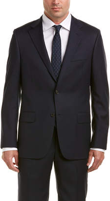 Hickey Freeman Milburn Ii Wool Suit With Flat Pant